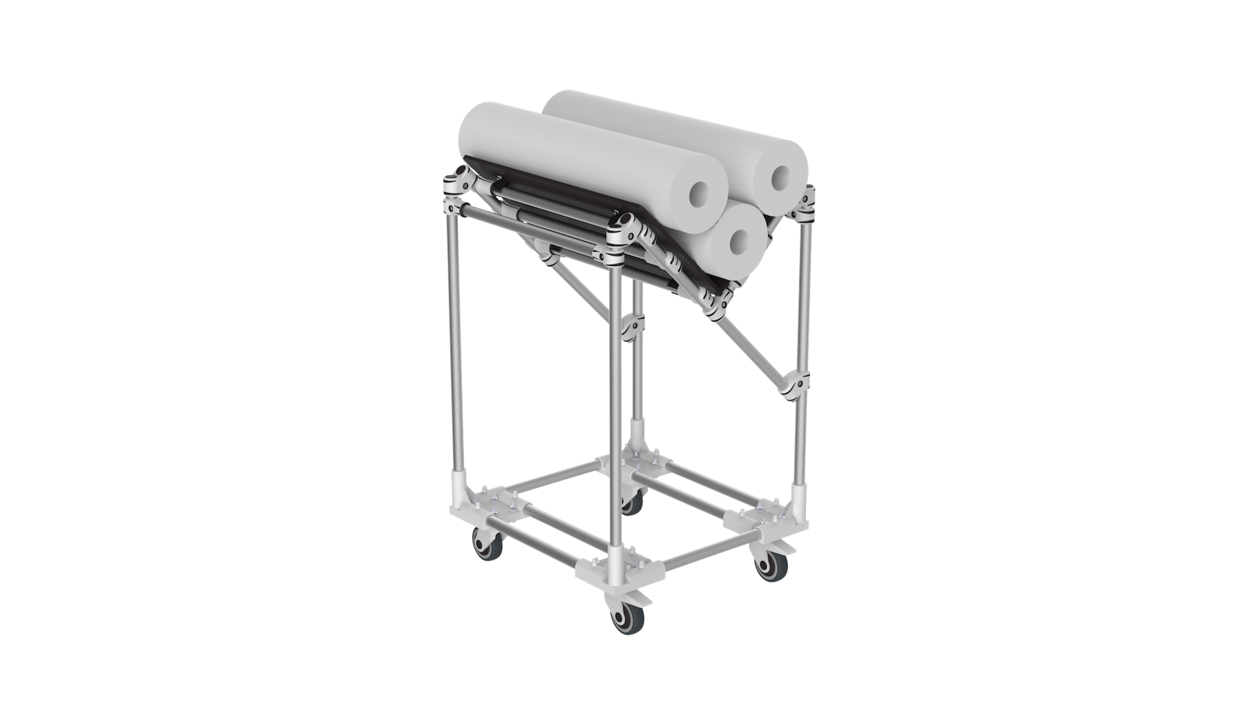 V shape trolley