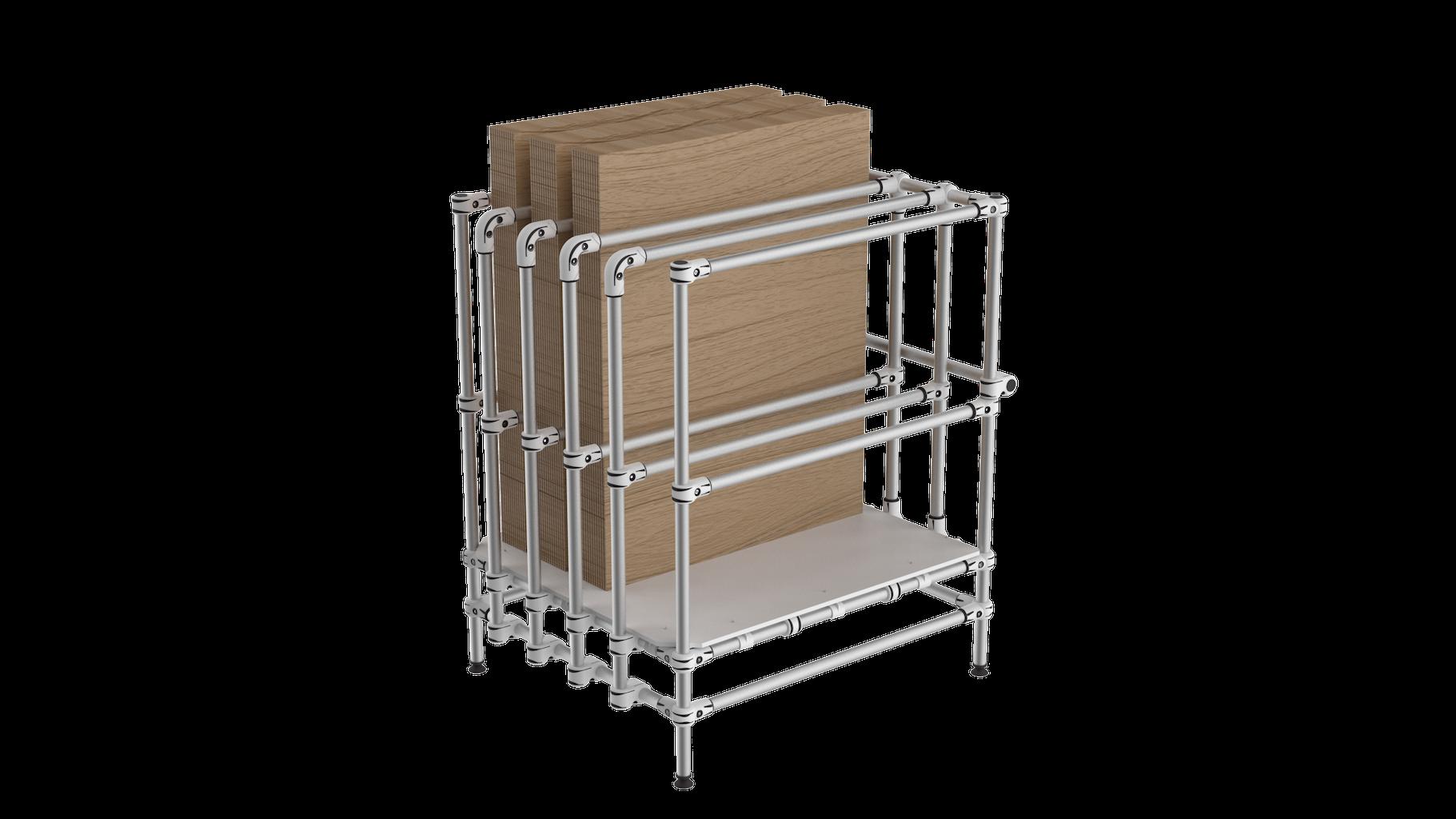 Vertical board storage