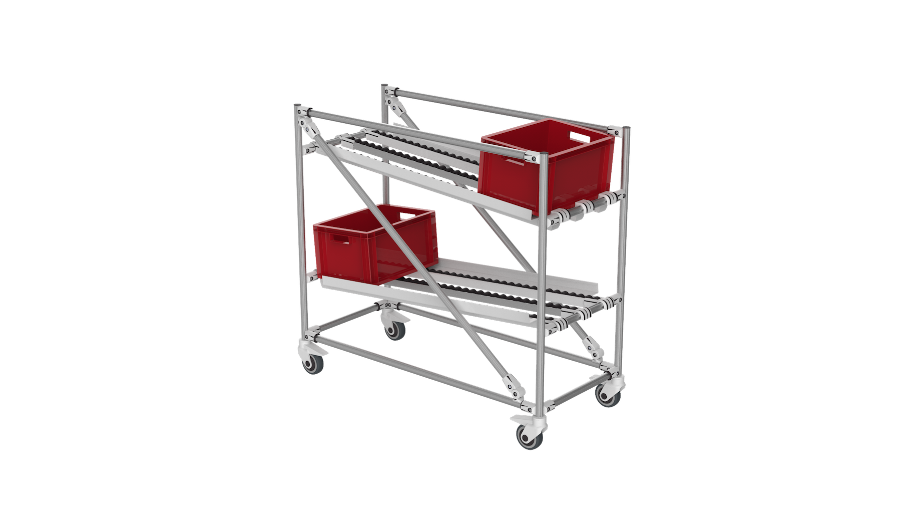 FIFO loading cart