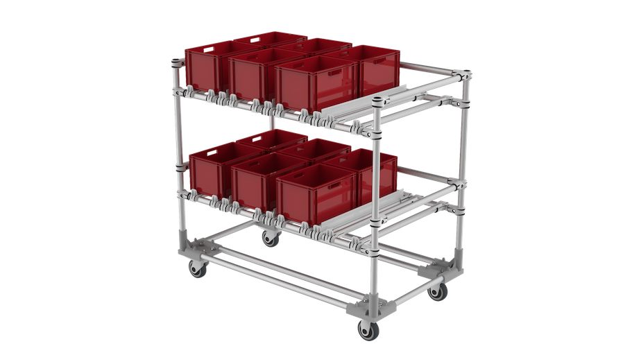 Kitting trolley