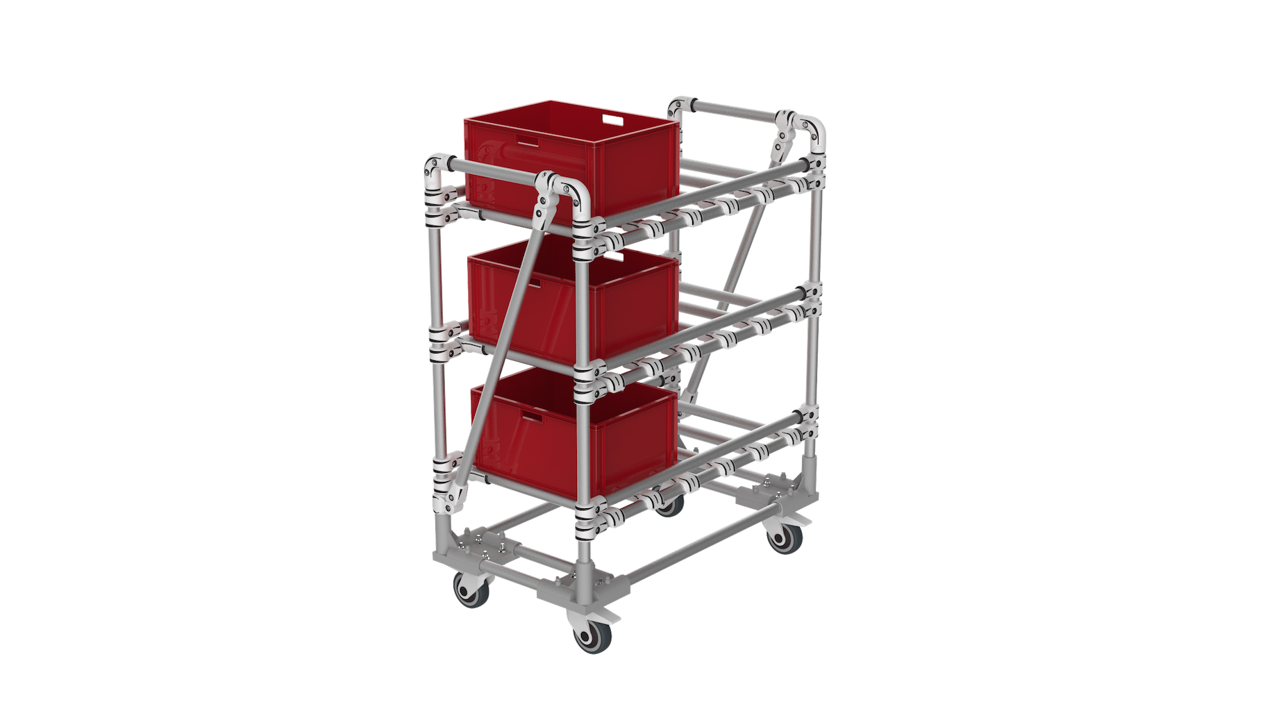 KLT storage trolley