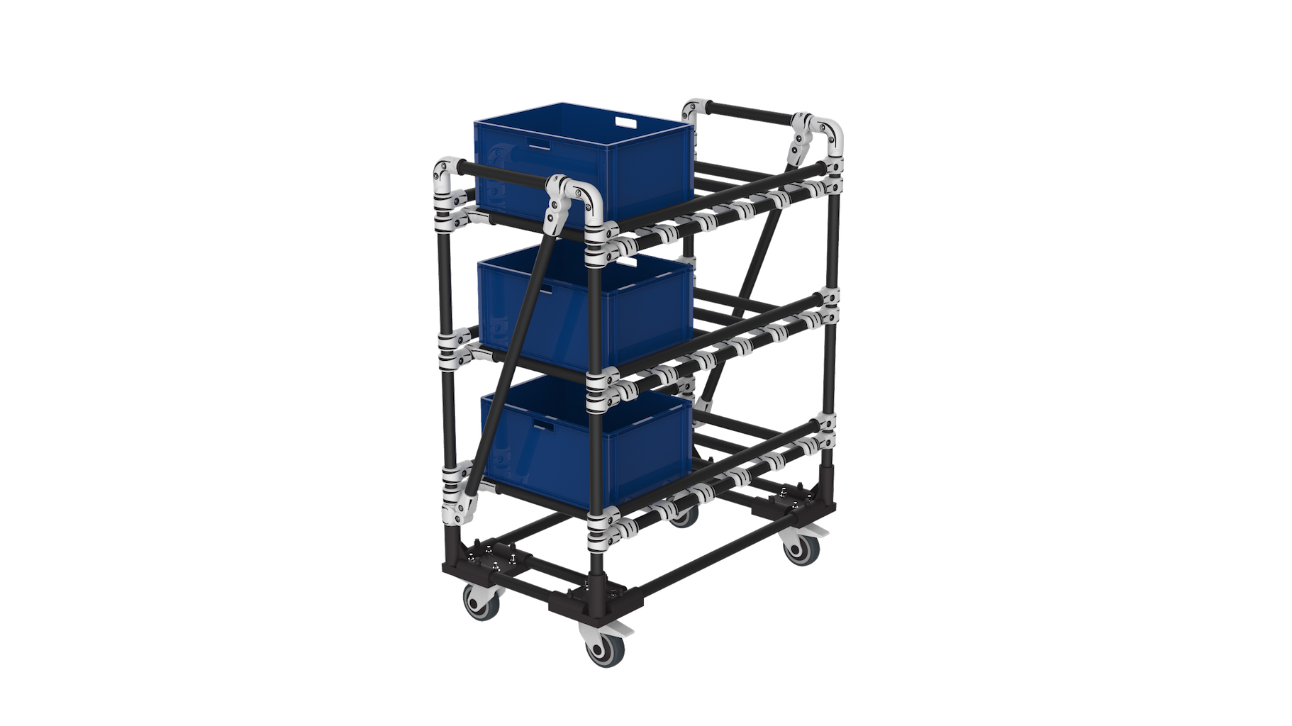 KLT storage cart
