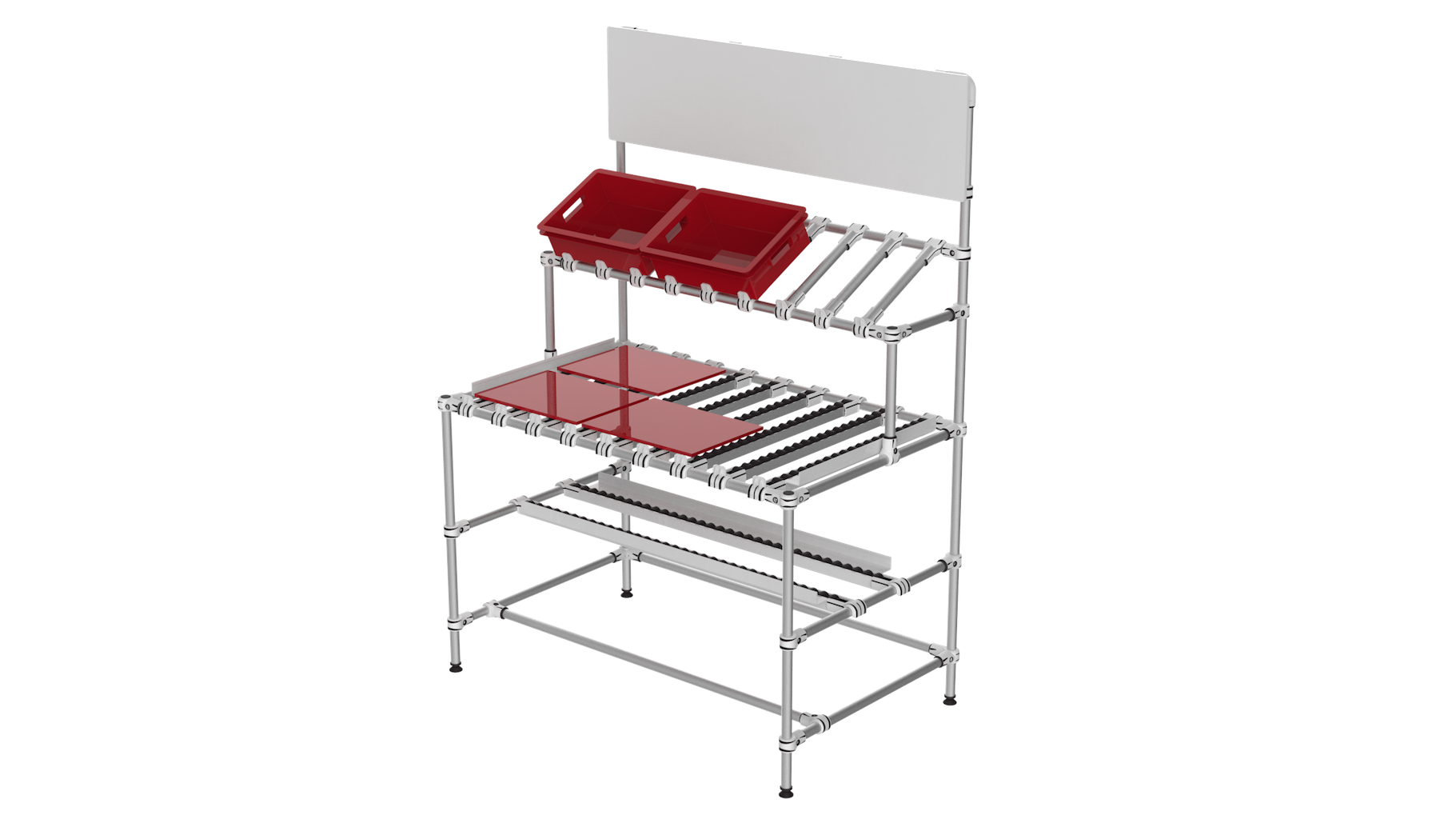 Conveyor FIFO workbench