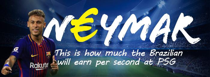 Neymar wage