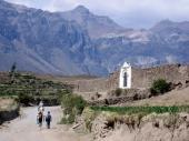 Der Weg zum Canon de Colca