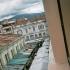 Blick aus unserem Hostel