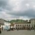 Der zentrale Platz in Quito