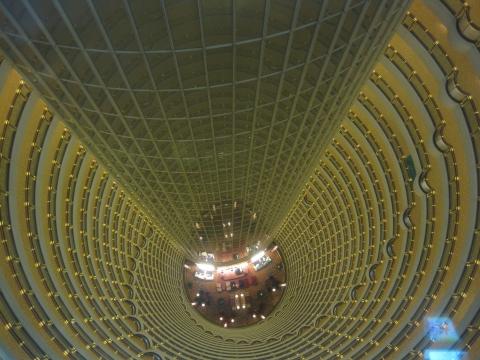 Shanghai - Hotellobby vom Grand Hyatt