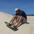 Sandboarding in Little Sahara