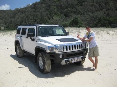 Fraser Island - Hummer