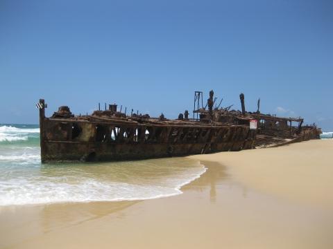 Fraser Island - Maheno Shipwreck