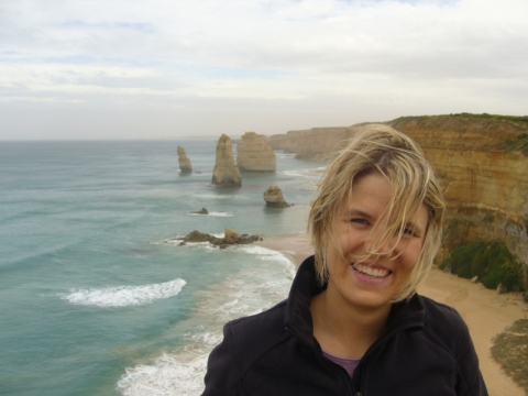 Great Ocean Road - ... very windy!