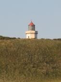 Der letzte Leuchtturm auf dänischer Seite
