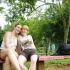 Henne und ich im Zoo