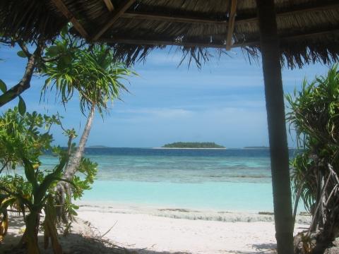 nichts tun auf den Malediven