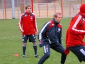 Philipp Lahm und Jürgen Klinsmann