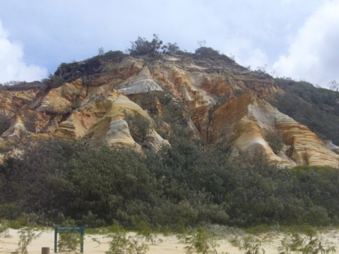 Fraser Island - Coloured Sands