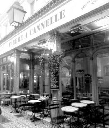 Paris - Café L'Arbre à Cannelle