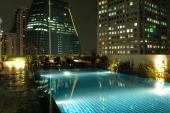 Pool auf dem Park Plaza Hotel
