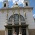 Blick auf die Otto-Wagner-Kirche zum Hl. Leopold