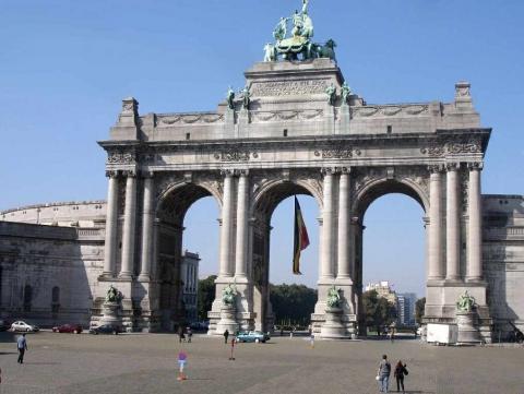Wochenende Brüssel triumphbogen foto aus dem reisebericht brüssel ein wochenende in