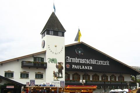 Festzelte - Paulaner-Festhalle