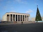 Zentraler Platz mit Palast der Republik und Museum