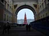 Blick auf Schlossplatz