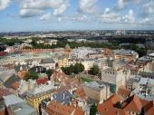 Blick von der Petrikirche
