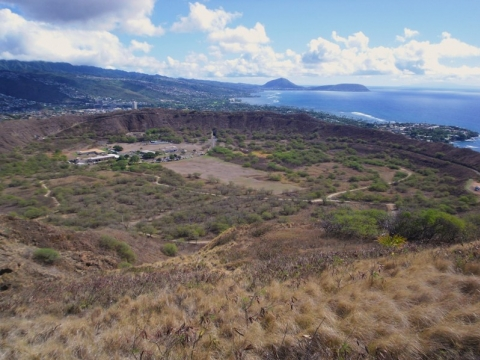 Oahu / Hawaii - Oahu / Hawaii,  Diamond Head Crater