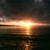 Sonnenuntergang bei Reykjavik