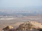 Las Vegas von den Callico Tanks aus
