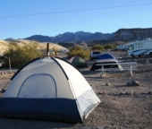 Camping @Death Valley