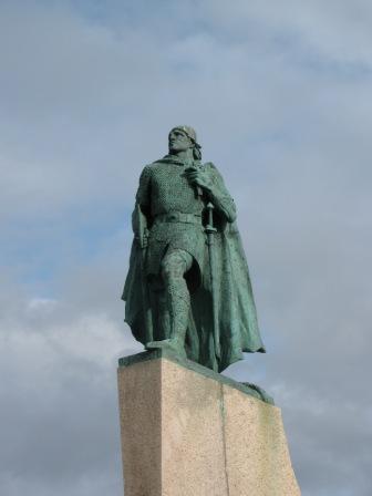 Reykjavík - Der Wikinger Leifur Eiríksson