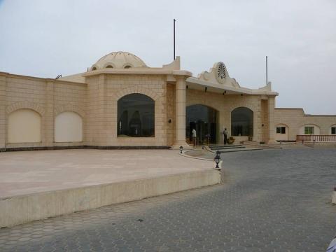 Marsá al `Alam - Hotel Eingang