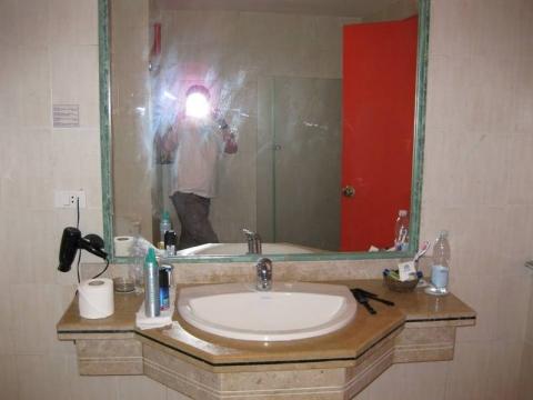 Marsá al `Alam - Bad und Toilette