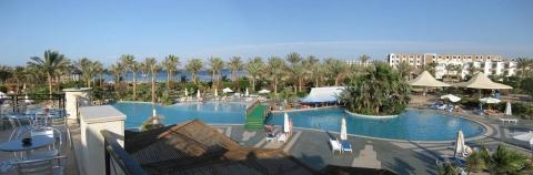 Marsá al `Alam - Panorama der Hotellandschaft
