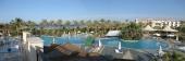 Panorama der Hotellandschaft