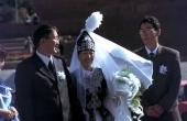 Brautpaar in Almaty