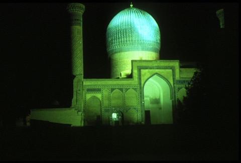 Samarkand - Gur Emir bei Nacht