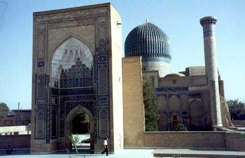 Samarkand - Gur Emir in Samarkand