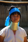 Langhals Frau bei Chiang Mai