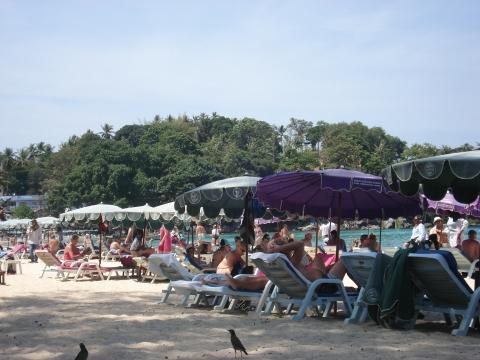 Kata Beach - Die Riege der Pauschaltoruisten