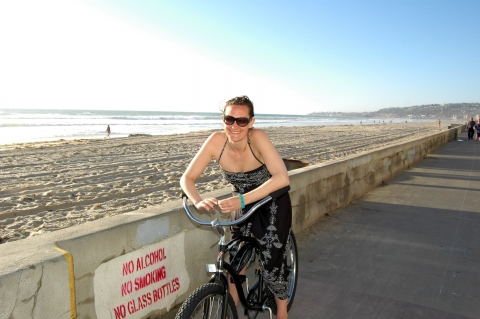 San Diego - Cruising at Mission Beach