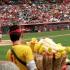 Popcorn beim Baseball