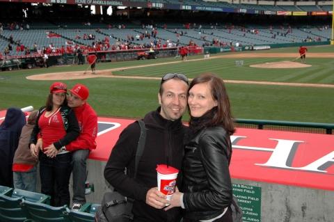 Los Angeles - LA Angels Baseballstadion