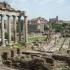 Blick aufs Roemische Forum