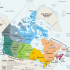 Kanada - Map