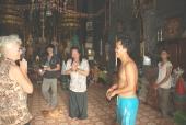 Priester bei Banteay-Srei