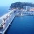 Pier und Blick auf die Festung